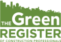 The Green Regster of Construction Professionals